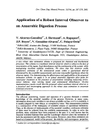 Application of a Robust Interval Observer to an Anaerobic Digestion Process.