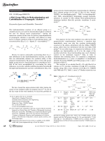 a-Silyl Group Effect in Hydroalumination and Carbolithiation of Propargylic Alcohols.