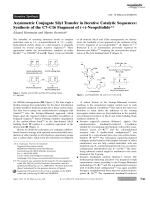 Asymmetric Conjugate Silyl Transfer in Iterative Catalytic Sequences  Synthesis of the C7ЦC16 Fragment of (+)-Neopeltolide.