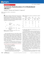 Asymmetric Hydroboration of 1 1-Disubstituted Alkenes.