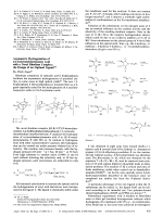 Asymmetric Hydrogenation of -(Acetylamino)cinnamic Acid with a Novel Rhodium Complex; the Design of an Optimal Ligand.