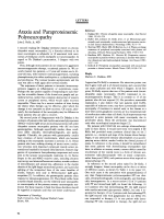 Ataxia and paraproteinemic polyneuropathy.