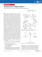 Atroposelective Organocatalysis.