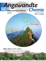 Back Cover  An Additional Coordination Group Leads to Extremely Efficient Chiral Iridium Catalysts for Asymmetric Hydrogenation of Ketones (Angew. Chem. Int. Ed. 322011)