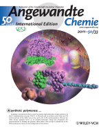 Back Cover  Artificial Molecular Clamp  A Novel Device for Synthetic Polymerases (Angew. Chem. Int. Ed. 332011)