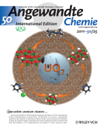 Back Cover  Base-Driven Assembly of Large Uranium OxoHydroxo Clusters (Angew. Chem. Int. Ed. 252011)