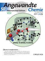 Back Cover  Double Single-Crystal-to-Single-Crystal Transformation and Small-Molecule Activation in Rhodium NHC Complexes (Angew. Chem. Int. Ed. 352011)