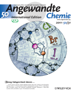 Back Cover  Halogen-Bond-Induced Activation of a CarbonЦHeteroatom Bond (Angew. Chem. Int. Ed. 312011)