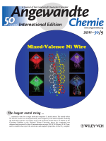 Back Cover  Two Linear Undecanickel Mixed-Valence Complexes  Increasing the Size and the Scope of the Electronic Properties of Nickel Metal Strings (Angew. Chem. Int. Ed. 92011)