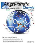 Backside Cover  Remote Supramolecular Control of Catalyst Selectivity in the Hydroformylation of Alkenes (Angew. Chem. Int. Ed. 22011)