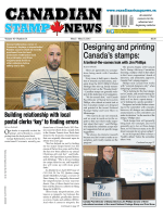 Canadian Stamp News May 215 2017