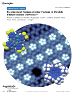 Bicomponent Supramolecular Packing in Flexible Phthalocyanine Networks.