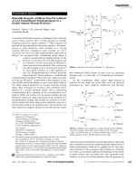 Bimetallic Reagents of Silicon  One-Pot Synthesis of 2 3 5-Trisubstituted Tetrahydrofurans by a Double SakuraiЦHosomi Reaction.