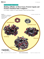 Binding Affinities of HostЦGuest  ProteinЦLigand  and ProteinЦTransition-State Complexes.