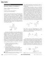 Biomimetic Synthesis of Grossularines-1.