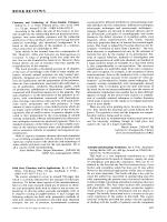 Book Review  Chemistry and Technology of Water-Soluble Polymers. Edited by C. A. Finch
