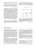 Book Review  Chemistry of Acetylenes. By H. G. Viehe