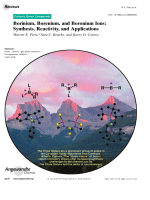Borinium  Borenium  and Boronium Ions  Synthesis  Reactivity  and Applications.