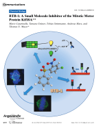 BTB-1  A Small Molecule Inhibitor of the Mitotic Motor Protein Kif18A.