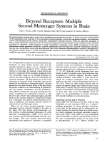 Beyond receptors  Multiple second-messenger systems in brain.