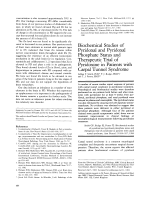Biochemical studies of pyridoxal and pyridoxal phosphate status and therapeutic trial of pyridoxine in patients with carpal tunnel syndrome.