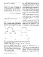 Calculation of the Intermediates and Transition State in Electrophilic Aromatic Substitution.