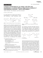 Carbamoyl Translocations by an Anionic ortho-Fries and Cumulenolate -Acylation Pathway  Regioselective Synthesis of Polysubstituted Chromone 3- and 8-Carboxamides.