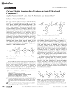Carbon Dioxide Insertion into Uranium-Activated Dicarbonyl Complexes.