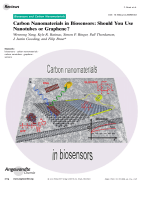 Carbon Nanomaterials in Biosensors  Should You Use Nanotubes or Graphene.