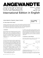 Carbon Suboxide in Preparative Organic Chemistry. New synthetic methods (1)