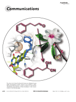 Carving the Active Site of Almond R-HNL for Increased Enantioselectivity.