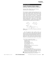 Cascade Carbonylation Methods Leading to -Diketones and -Functionalized -Diketones.