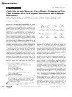 Cassis Odor through Microwave Eyes  Olfactory Properties and Gas-Phase Structures of all the Cassyrane Stereoisomers and its Dihydro Derivatives.