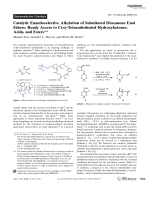Catalytic Enantioselective Alkylation of Substituted Dioxanone Enol Ethers  Ready Access to C()-Tetrasubstituted Hydroxyketones  Acids  and Esters.