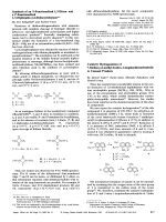 Catalytic Hydrogenation of 7-Methoxy-6-methyl-8-nitro-1-isoquinolinecarbonitrile to Unusual Products.