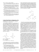 Catalytic Hydrosilylation or Hydrogenation at One Coordination Site of [CpFe(CO)(X)] Fragments.