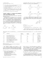 Catalytic Synthesis of 1 2-Diaza-1 5 9-cyclododecatrienes from Butadiene and Azines.