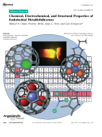 Chemical  Electrochemical  and Structural Properties of Endohedral Metallofullerenes.