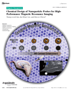 Chemical Design of Nanoparticle Probes for High-Performance Magnetic Resonance Imaging.