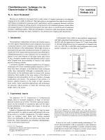Chemiluminescence Techniques for the Characterization of Materials [New Analytical Methods (41)].