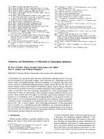 Chemistry and Biochemistry of Microbial -Glucosidase Inhibitors.