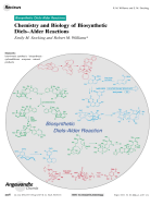 Chemistry and Biology of Biosynthetic DielsЦAlder Reactions.