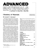 Chemistry of Materials.