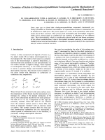 Chemistry of Stable -Halogenoorganolithium Compounds and the Mechanism of Carbenoid Reactions.
