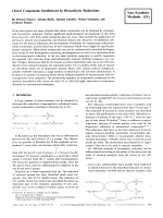 Chiral Compounds Synthesized by Biocatalytic Reductions [New Synthetic Methods (51)].