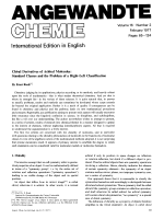 Chiral Derivatives of Achiral Molecules  Standard Classes and the Problem of a Right-Left Classification.