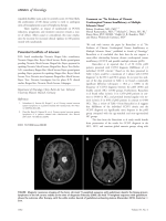 Comment on Уno evidence of chronic cerebrospinal venous insufficiency at multiple sclerosis onsetФ.