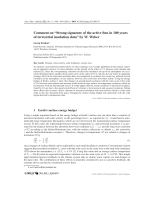 Comment on УStrong signature of the active Sun in 100 years of terrestrial insolation dataФ by W. Weber