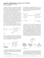 Compounds Containing Silicon  Germanium  and Tin Polyhedra  The First Octahedral Tin Cluster.
