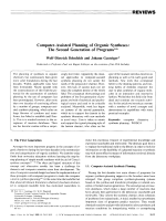 Computer-Assisted Planning of Organic Syntheses  The Second Generation of Programs.